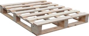 Dřevěné palety a europalety s certifikací IPPC